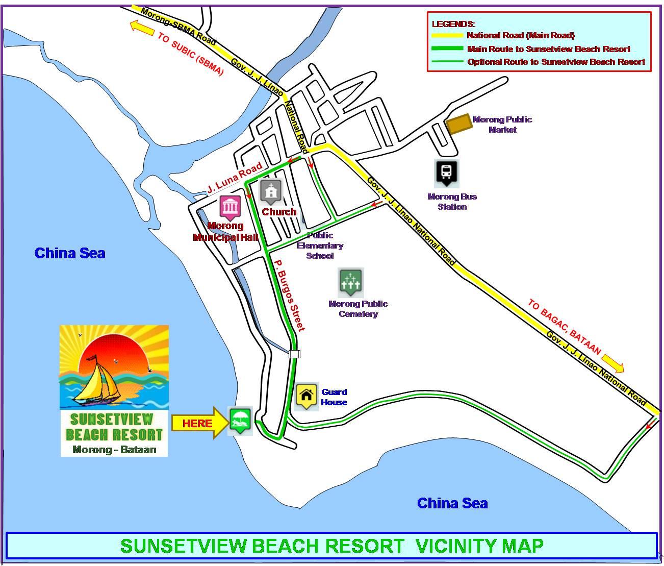 Sunsetview Beach Resort Morong Bataan Philippines Hotel